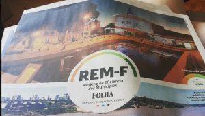 Ilustração de capa do REM-F. O especial foi publicado em 28 de agosto de 2006 na Folha de S.Paulo