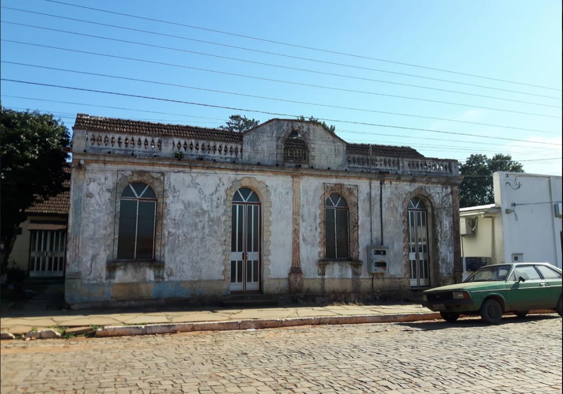 Casa colonial em Jari (RS) (Foto: Arquivo pessoal)